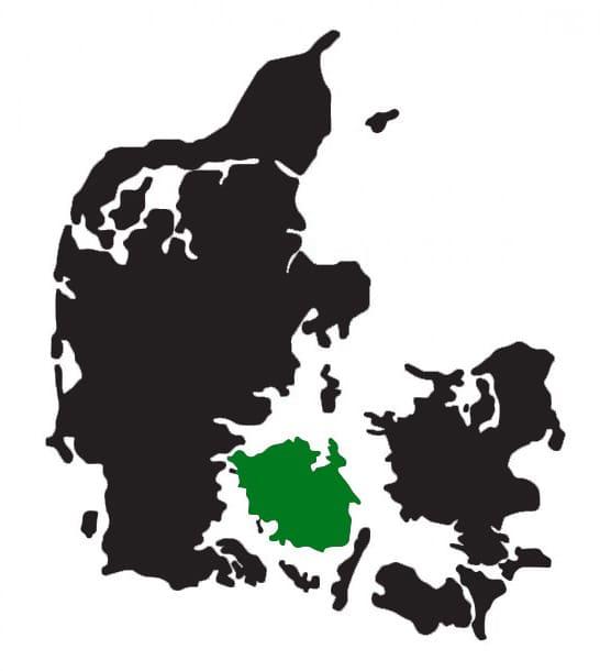 Kort: Ansigtsmaler til private arrangementer i hele Danmark