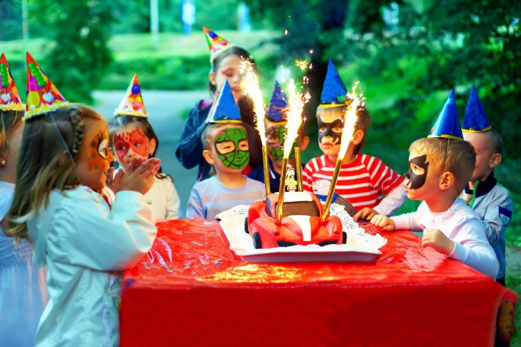 Ansigtsmaler til børnefødselsdag - Privat ansigtsmaler