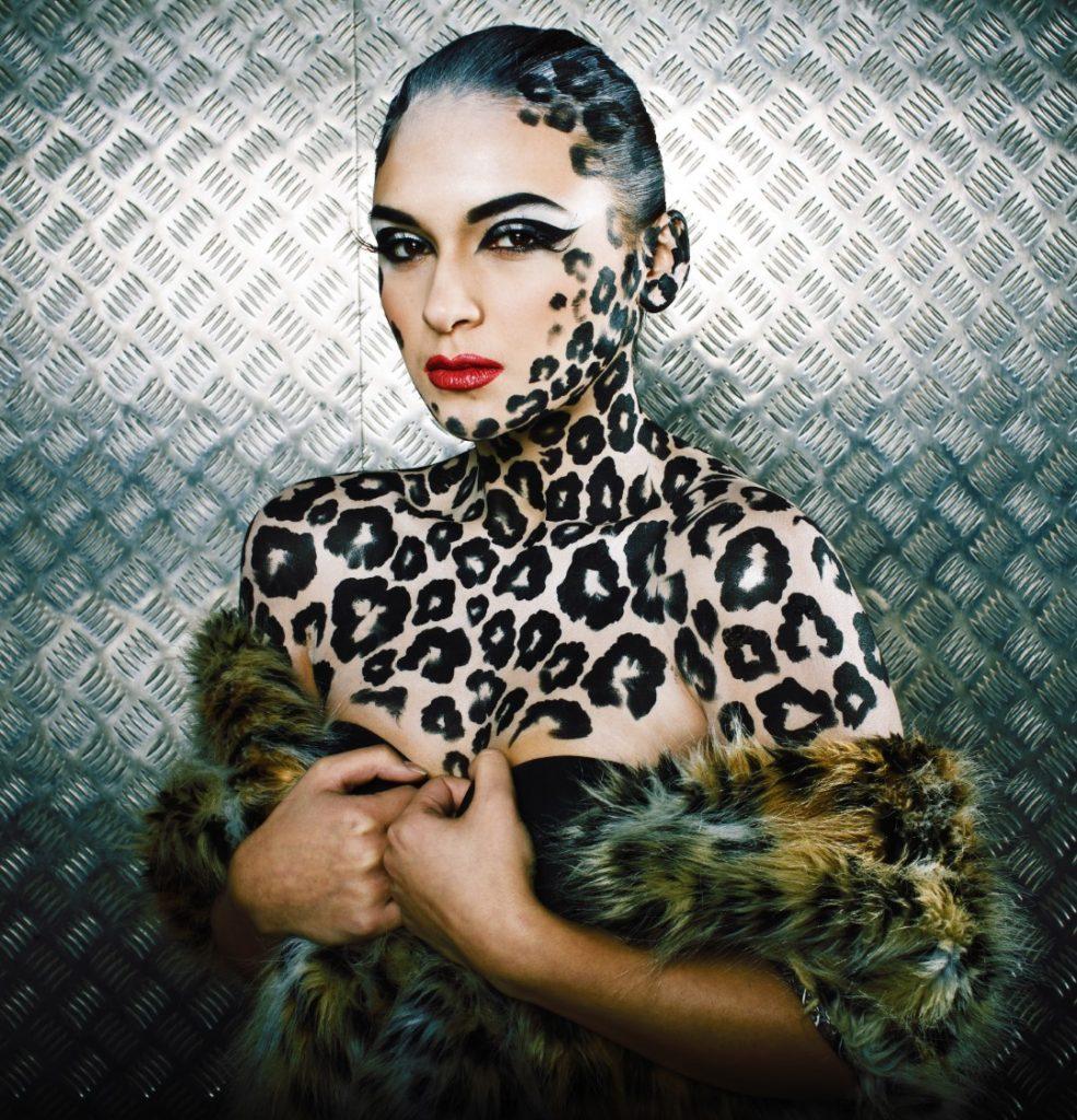 Markedsføring eksempel - Leopard bodypaint