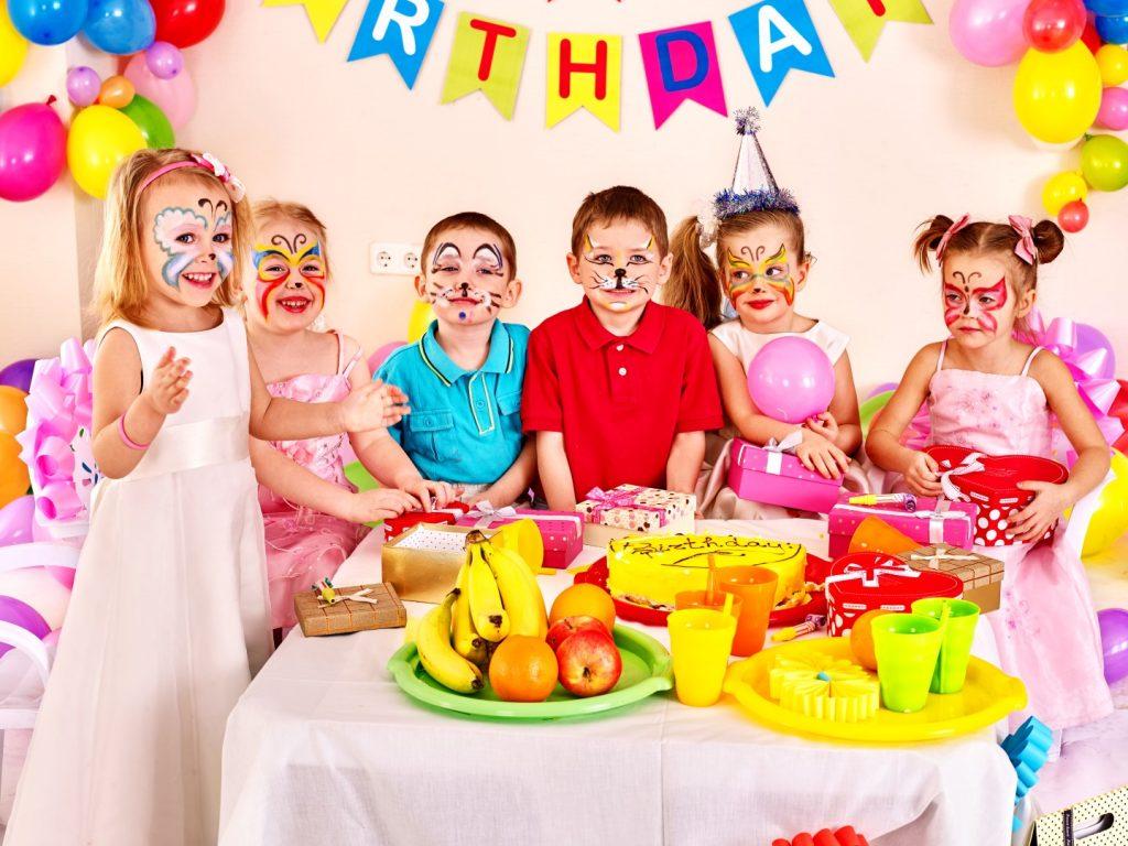 Ansigtsmaler til børnefødselsdag