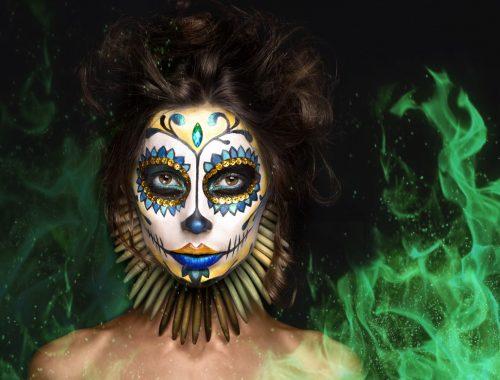 Markedsføring eksempel - Halloween gudinde
